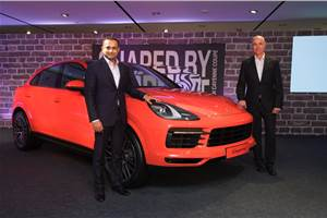 Porsche Cayenne Coupe launched at Rs 1.31 crore