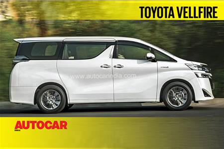 Toyota Vellfire video review