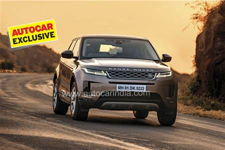 2020 Range Rover Evoque review, test drive