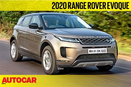 2020 Range Rover Evoque video review