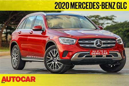 2020 Mercedes-Benz GLC video review