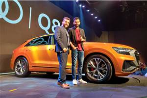 Audi Q8 launched at Rs 1.33 crore