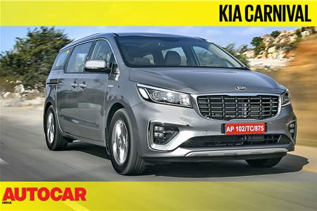 Kia Carnival video review