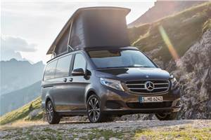 Mercedes-Benz V-class Marco Polo launch on February 6