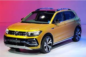 Volkswagen Taigun SUV for India breaks cover