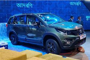 Tata Hexa Safari Edition breaks cover at Auto Expo 2020