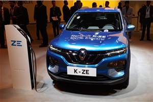 Renault K-ZE to be pitched as EV for the masses