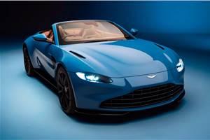 New Aston Martin Vantage Roadster sports fastest-folding roof