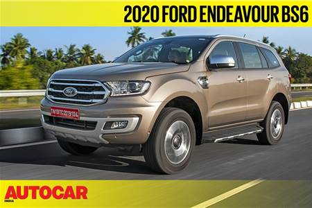 Ford Endeavour 2.0-litre diesel video review