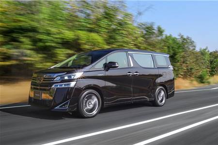 2020 Toyota Vellfire India review, test drive