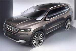 Jeep D-SUV, Compass facelift expected next year