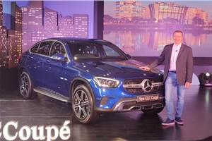 2020 Mercedes-Benz GLC Coupe launched at Rs 62.70 lakh