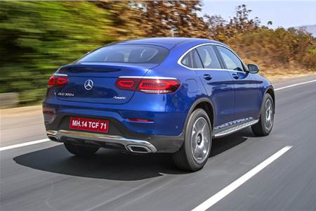 2020 Mercedes-Benz GLC Coupe review, test drive