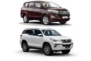 Toyota claims Innova Crysta, Fortuner sales dominate respective segments