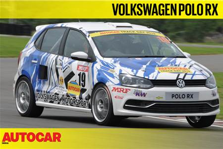 Volkswagen Polo RX track drive video