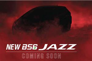 BS6 Honda Jazz teased