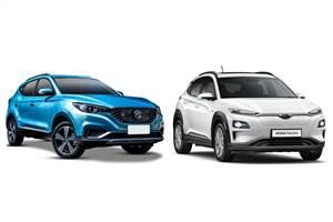 MG ZS EV vs Hyundai Kona Electric: Specifications comparison