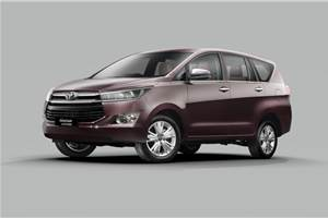 Toyota Innova Crysta 2.8 won't return in the BS6 era