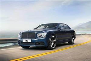 Bentley Mulsanne 6.75 Edition production delayed due to coronavirus