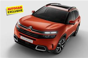 India-bound Citroen C5 Aircross to get only 2.0 diesel engine