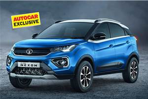 BS6 Tata Nexon AMT's fuel efficiency revealed