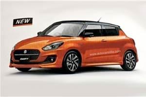 Refreshed Suzuki Swift: first pic surfaces online