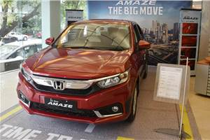 BS6 Honda Amaze gets Rs 32,000 worth of benefits