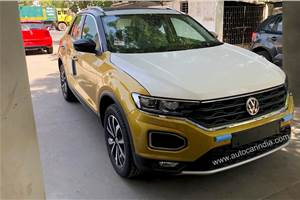 Volkswagen T-Roc almost sold out in India
