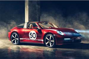 Porsche 911 Targa 4S Heritage Design revealed