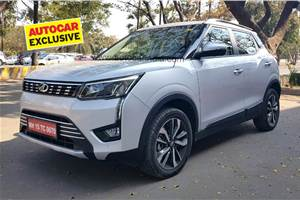 BS6 Mahindra XUV300 diesel-manual fuel economy revealed