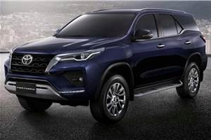 2021 Toyota Fortuner facelift revealed