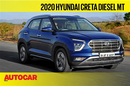 2020 Hyundai Creta diesel video review