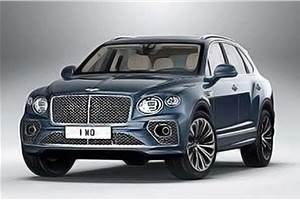 Bentley Bentayga facelift images surface online