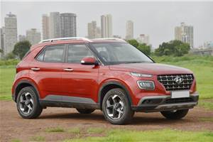 Hyundai Venue sales in India cross 97,000 units in first year