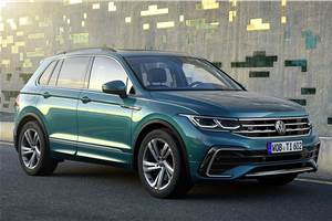 2021 Volkswagen Tiguan facelift revealed