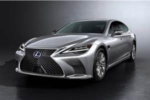 Lexus previews updated LS sedan