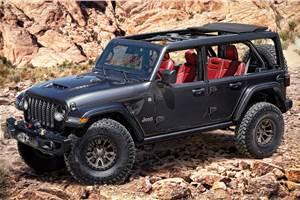Jeep Wrangler Rubicon 392 V8 concept revealed