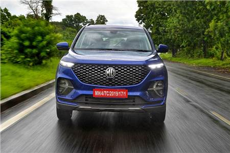 MG Hector Plus review, test drive