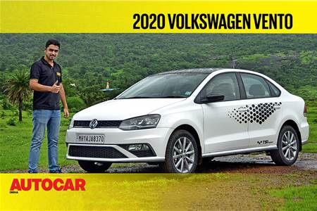 2020 Volkswagen Vento 1.0 TSI video review