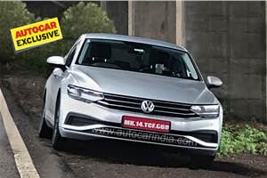 New Passat caught testing; VW looking at India launch