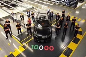 Lamborghini Urus crosses 10,000-unit production milestone