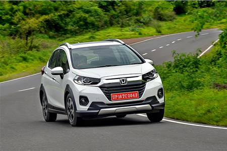 2020 Honda WR-V facelift review, test drive