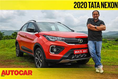 2020 Tata Nexon facelift video review