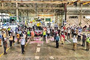 Citroen C5 Aircross India trial production begins