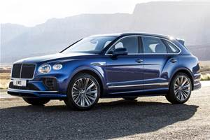 Bentley Bentayga Speed facelift unveiled