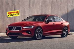 All-new Volvo S60 India launch in early 2021