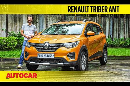 2020 Renault Triber AMT video review