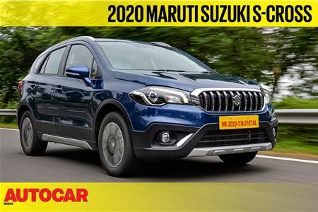 2020 Maruti Suzuki S-Cross petrol video review