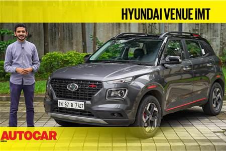 Hyundai Venue iMT video review