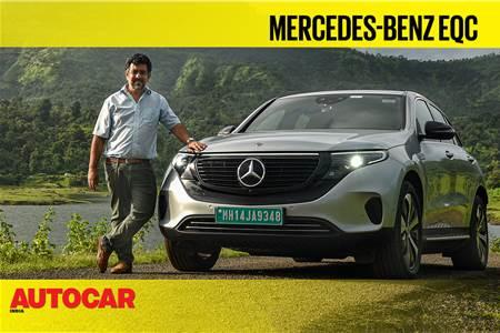 2020 Mercedes-Benz EQC India video review